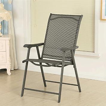 HWF Chaises Pliantes Chaise Pliante Fer Repasser Dextrieur Patio Jardin Extrieur Mobilier
