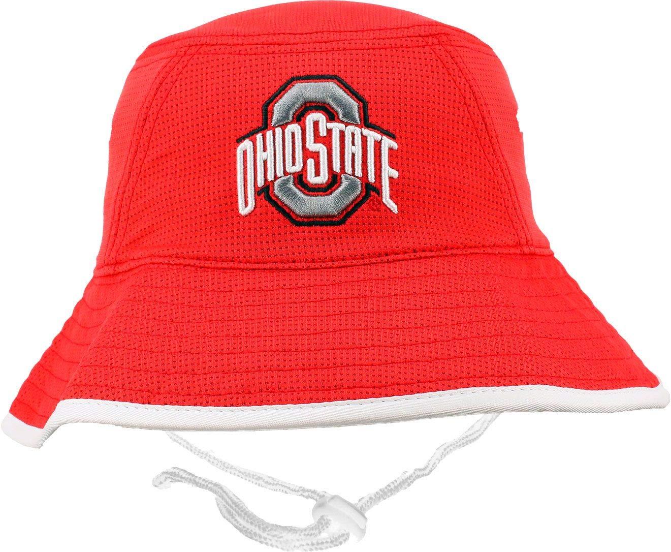 Amazon.com  Osu Men s Ohio State Buckeyes Scarlet Bucket Hat (OneSize)   Sports   Outdoors 1435608529c