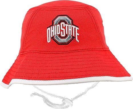 Amazon.com  Osu Men s Ohio State Buckeyes Scarlet Bucket Hat (OneSize)   Sports   Outdoors 4f6b9ee4dca