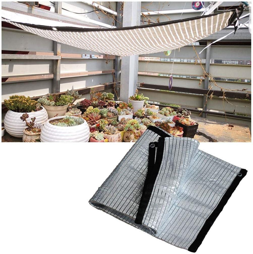 Red De Sombra Aluminio Reflectante Toldo Vela 85% UV Invernadero ...