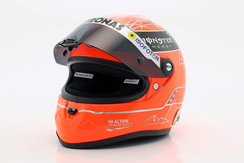 SCHUBERTH Michael Schumacher Mercedes GP Formel 1 2012 Helm 1:2