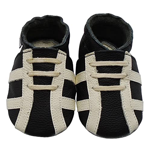 ed699e06150b8 Mejale Baby Shoes Premium Soft Sole Leather Moccasins First Walkers  Sneakers for Little Ones