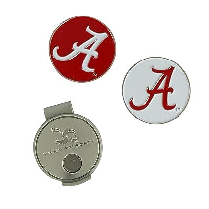 Amazon.com   Team Effort Alabama Crimson Tide Hat Clip   2 Ball ... c0e1fd48f631