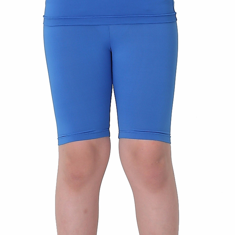 Kids Compression Shorts Underwear Youth Boys Spandex Base Layer Bottom Pants FK Blue L