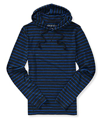 85a5065f9 Amazon.com  Aeropostale Mens Lightweight Striped Hoodie Sweatshirt ...