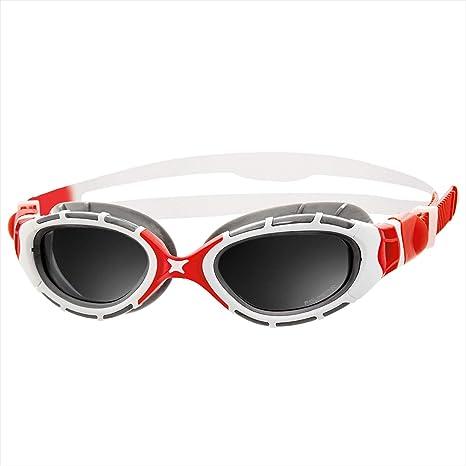 f1965cd9b89fe Amazon.com   Zoggs Predator Flex 2.0 Polarized (Red White)   Sports ...