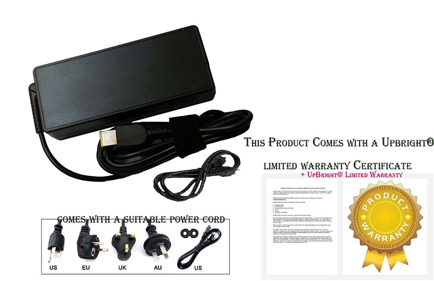 Laptop Ac Adapter Charger Power Cord Supply For Lenovo Wiring Uk Plug To Australian Flex 3 1120 1130 1435 1470 1535 1570 Electronics