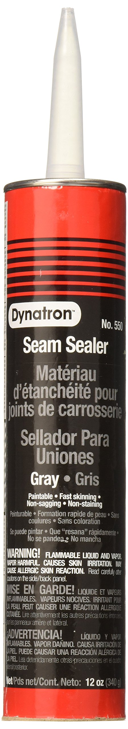 Dynatron 550 Auto Seam Sealer Grey Caulk - 12 oz. product image