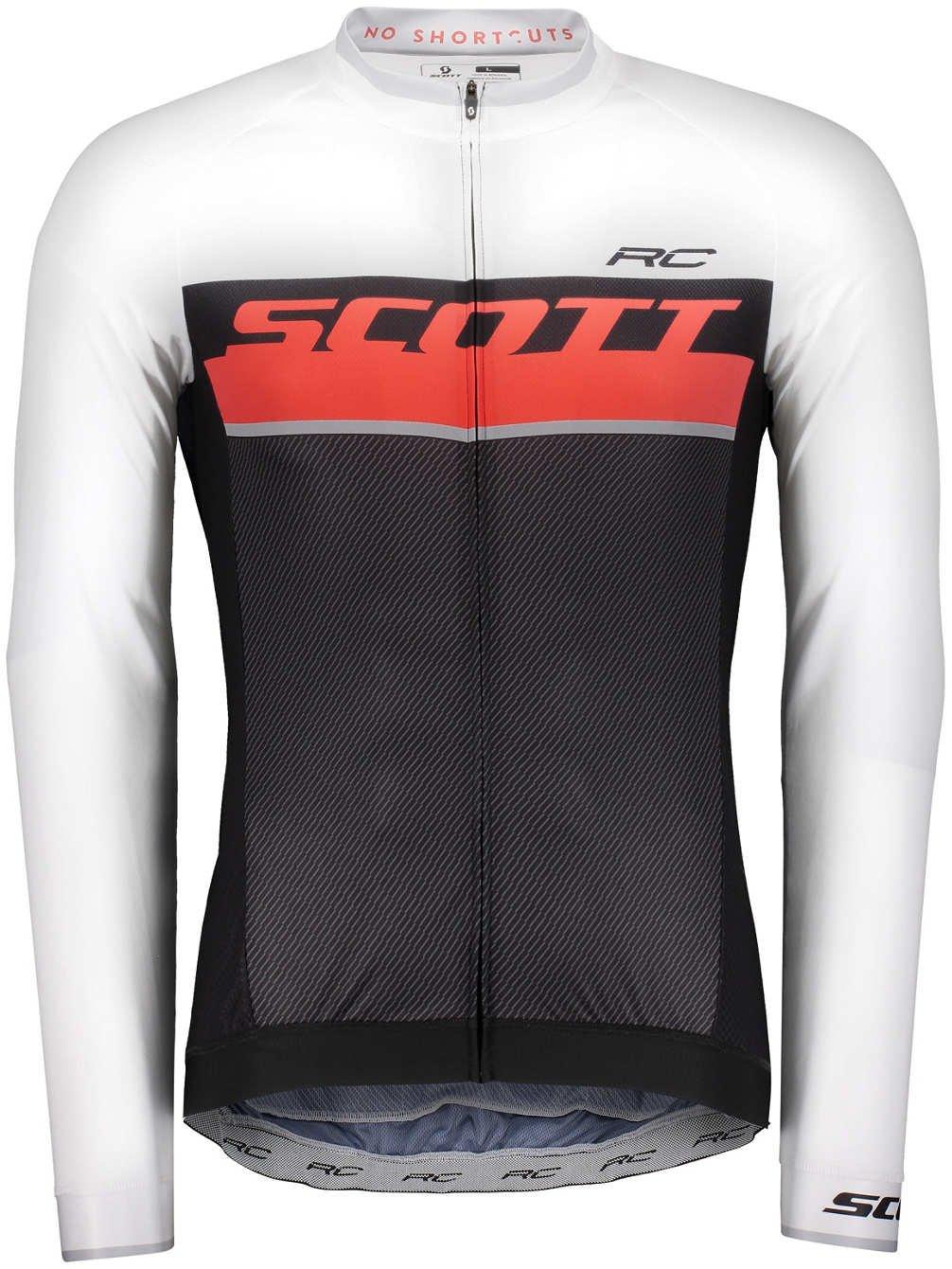 Scott SCO Camiseta RC Pro L/SL Black/Fiery Red