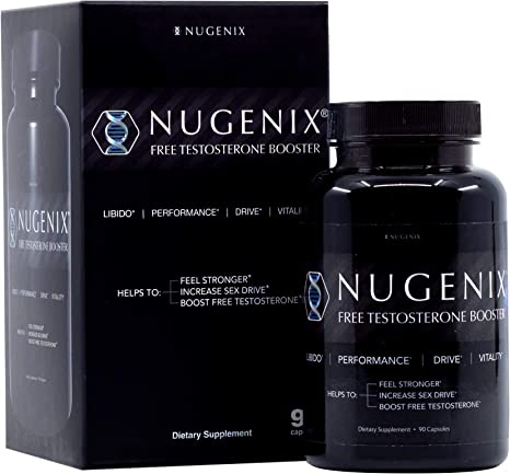 Amazon.com: Nugenix Free Testosterone Booster for Men - Clinically ...