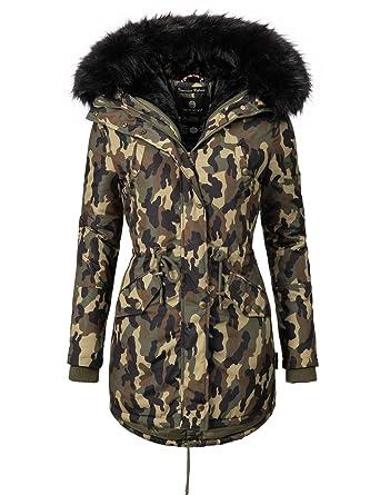 Mari Koo Manteau pour Femme Manteau d hiver Veste Parka d hiver 1 3 ... 79d7eb8d66c