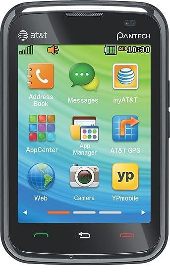 15e087f4e66 Amazon.com: Pantech Renue, Black (AT&T): Cell Phones & Accessories