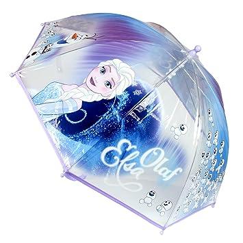 Disney Frozen 2400000266 45 cm Frozen Olaf y Elsa Junior paraguas