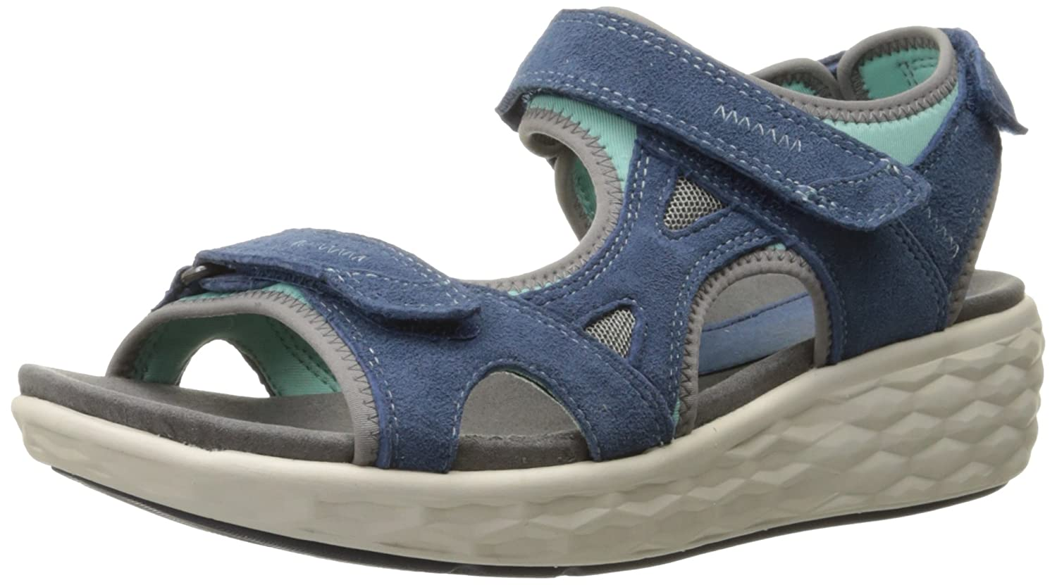 Cobb Hill Rockport Women's FreshSpark Flat B011VWLKFY 11 B(M) US|Blue