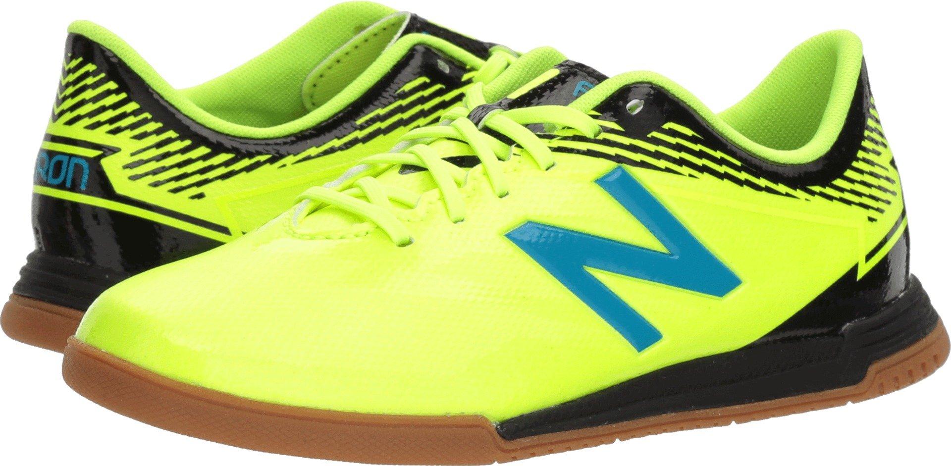 New Balance Boys' Furon3.0 Dispatch JNR in Soccer Shoe, hi lite/Maldives, 11 M US Little Kid