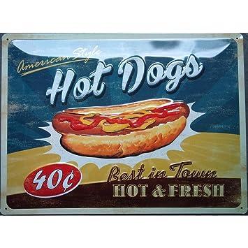 Amazon.de: hotrodspirit Montageplatte Hot Dog Kabelrinnen bombiert ...