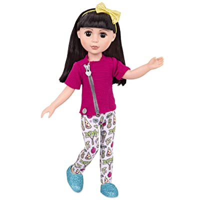 "Glitter Girls Dolls by Battat - Kani 14"" Poseable Fashion Doll - Dolls for Girls Age 3 & Up: Toys & Games"