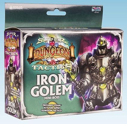 Ninja Division Super Dungeon Explore: Iron Golem