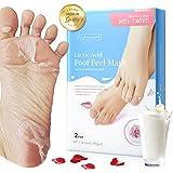 Foot Peel Mask - 2 Pack, Exfoliating Peeling Away Calluses and Dead Skin, Make Your Feet Baby Soft, Repair Rough Heels for Me