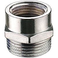 Cornat verchroomd stuk M22/1IGx3/4 inch AG, TEC386303 1/2 inch Innengewinde x 3/4 inch Aussengewinde