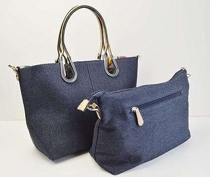 ead829fe85 Amazon.com   TOTE BAG   CrossBody bag (Pouches). Shoulder bag.DENIM FABRIC  .Beige. Horseshoe type. Botanical-print lining . Brands of Japan    Everything ...