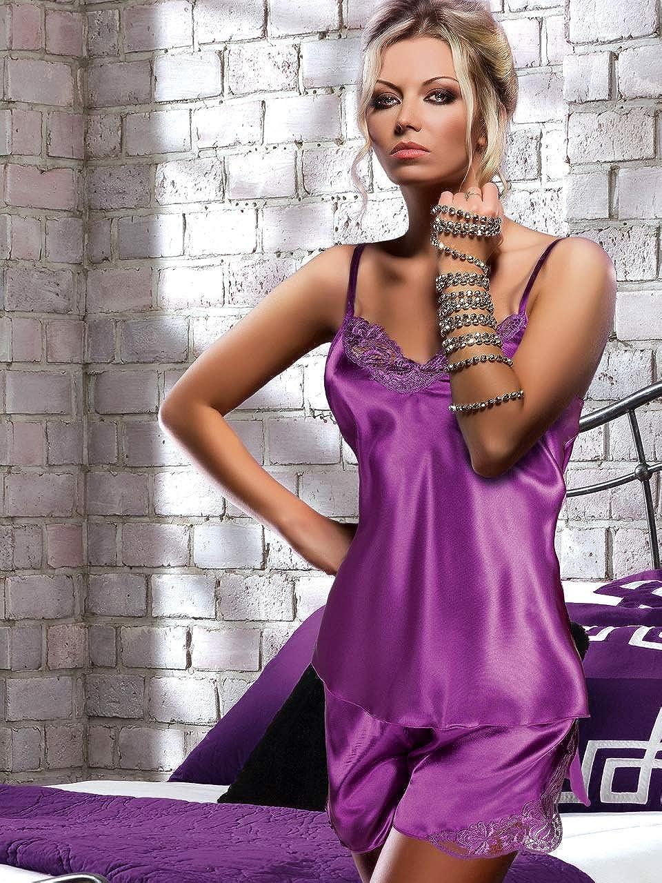 miorre Pijama Mujer Saten 2 Piezas