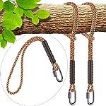 SELEWARE Hammock Straps, Tree Swing Rope, Hammock Chair Hanging Rope Kit