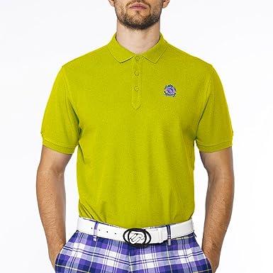 IJP Design Cotton Golf Polo - Camisa de Golf para Hombre, Color ...