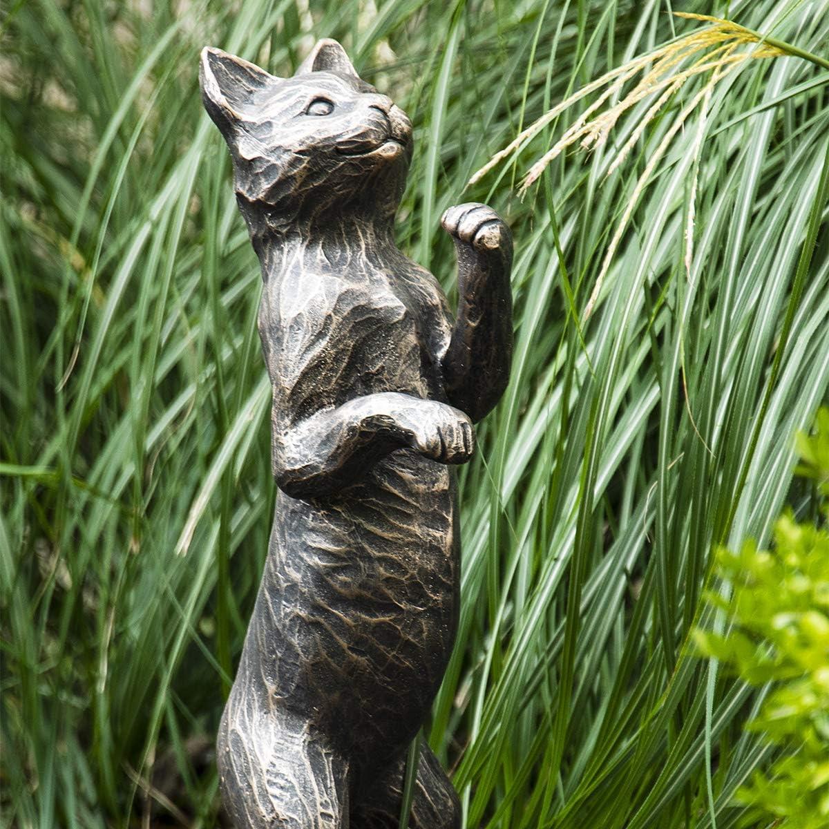 BRECK'S Standing Cat Statue