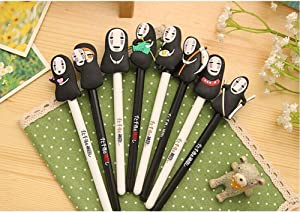 Ehdching 8 Spirited Away No Face Creative Cute Gel Pen