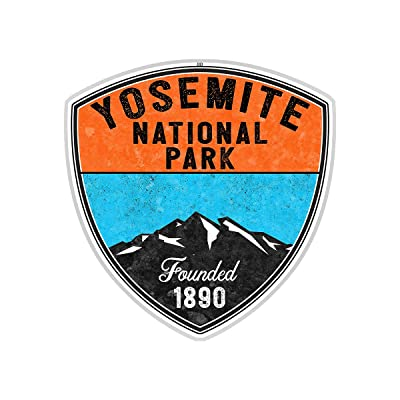 "Yosemite National Park California Sticker Decal 3"" Vinyl: Automotive"
