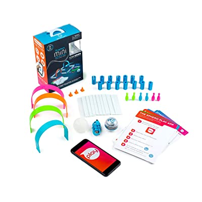 Sphero Mini Activity Kit: App-Enabled Programmable Robot Ball with 55 Piece Construction Set - STEM Educational Toy for Kids Ages 5 & Up - Drive, Game & Code Play & Edu App: Toys & Games