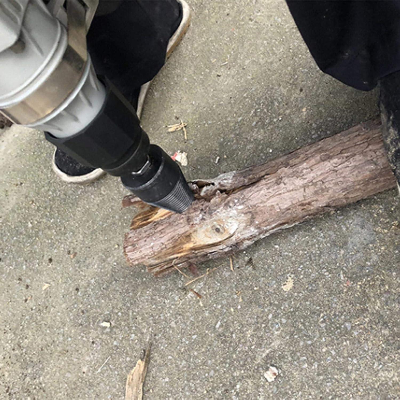 Wood Breaker Wedge Drilling Woodworking Tool 42mm Heavy Duty Log Splitter Screw Cone leveraYo Splitter Drill Bit High Speed Firewood Twist Drill Bit