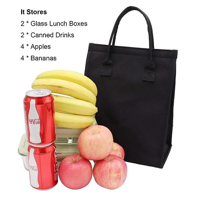 Amazon.com: Bolsa de almuerzo aislada a prueba de fugas ...