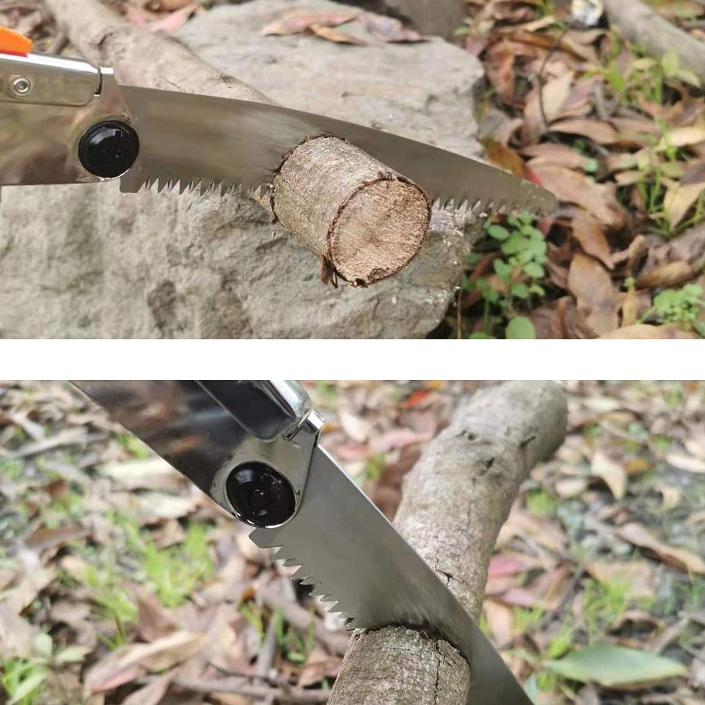 REXBETI Folding Saw, Compact Design 8 Inch Blade Hand Saw