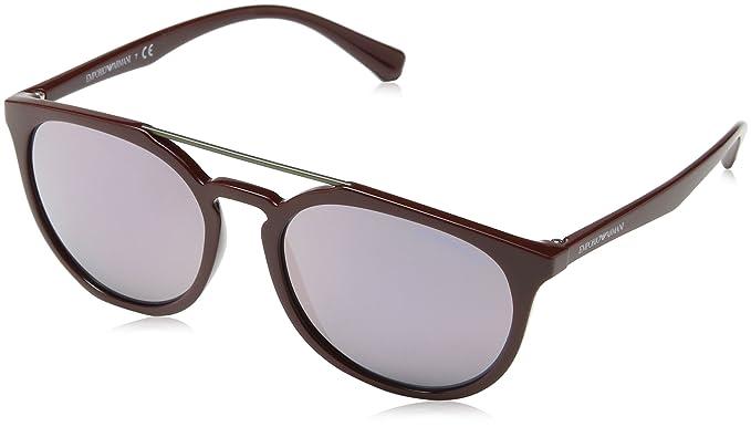 8985a80d9a7 EMPORIO ARMANI Men s 4103 0EA4103 55985R 56 Rectangular Sunglasses ...