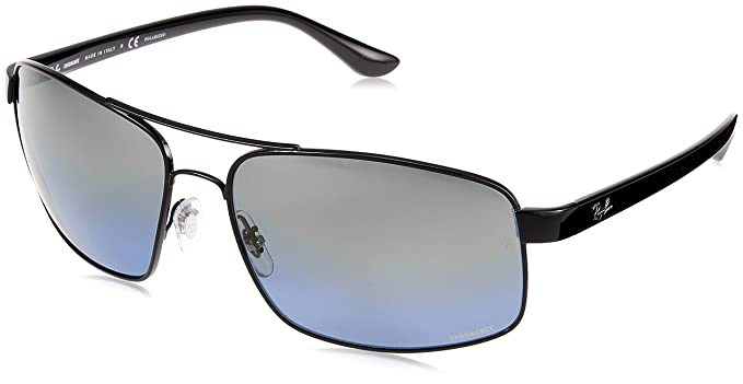 448f2cd15f7 Image Unavailable. Image not available for. Colour  RAYBAN Men s 0RB3604CH  002 J0 62 Sunglasses