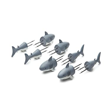Outset 76168 Shark Corn Holders, Shark Corn Holders, Shark Corn Holders
