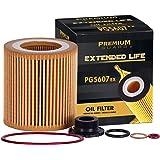 Premium Guard Oil Filter, Extended Life Premium Guard5607EX  Fits BMW 2007-18 X5, 2007-13 328i, 2013-17 X3, 2012-16 328i…