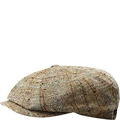 a88977ae58619 Stetson Men s Hatteras Silk Cap at Amazon Men s Clothing store