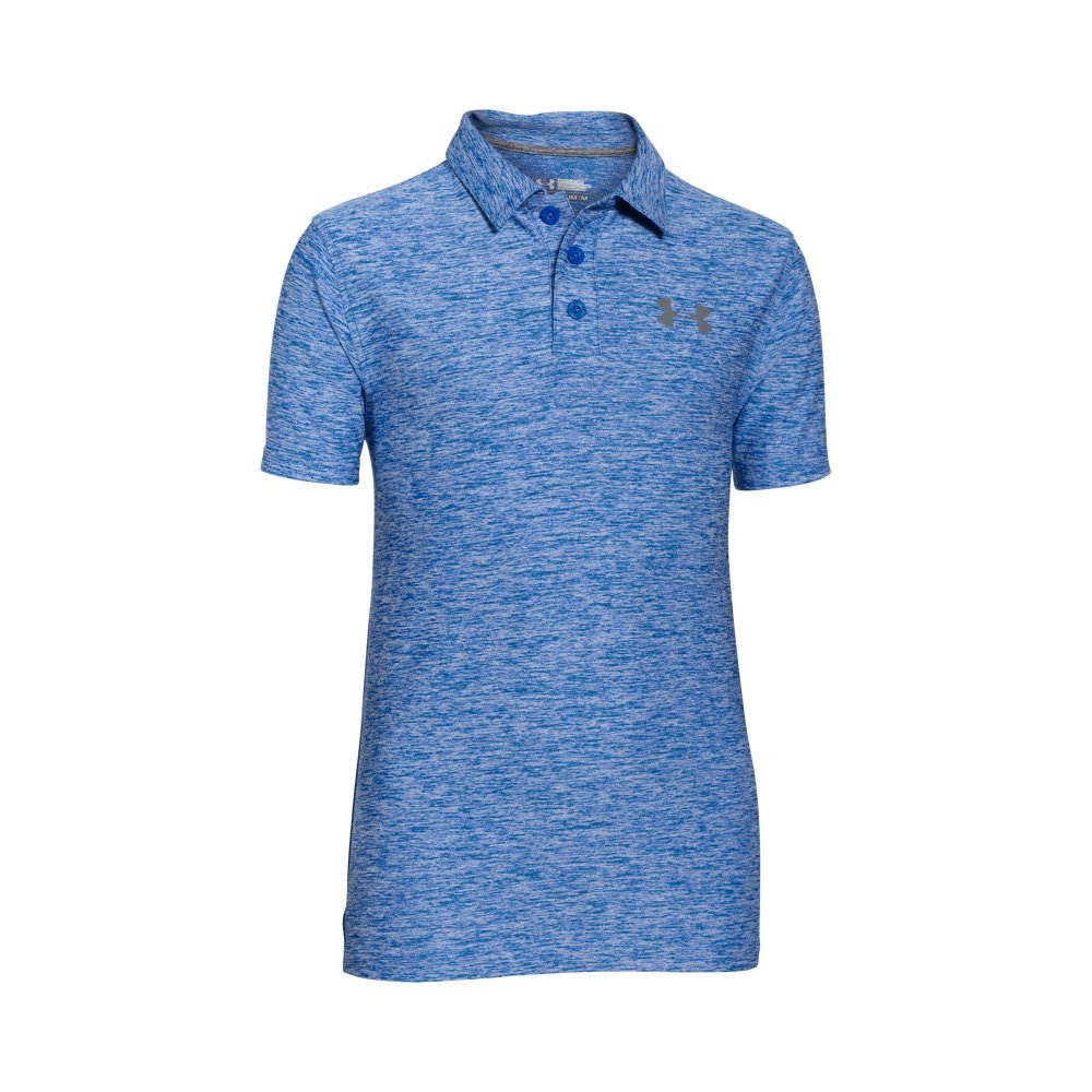 Under Armour Boys' Playoff Polo, Ultra Blue (907), Youth Small