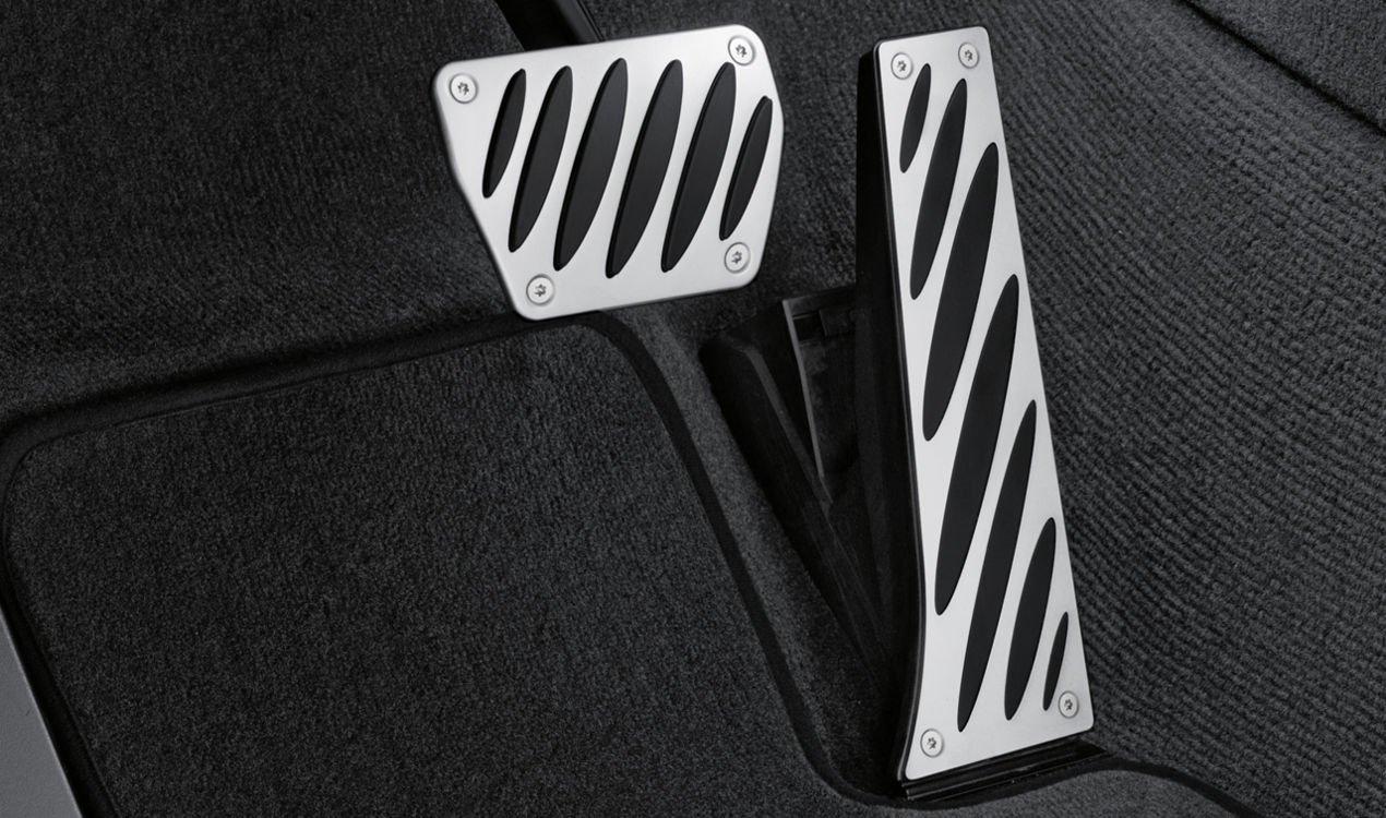 BMW Genuine Sport Pedal Pads Covers Set Aluminium Automatic (35 00 0 221 212)
