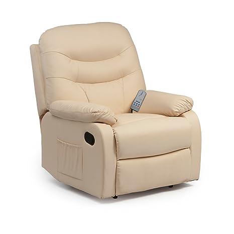 Terrific Hebden Massage Manual Reclining Chair Cream Alphanode Cool Chair Designs And Ideas Alphanodeonline