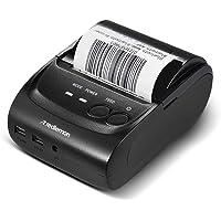 Redlemon Impresora Térmica Portátil Mini con Conexión Bluetooth Inalámbrica, para Tickets y Recibos POS PDV, Tamaño de…