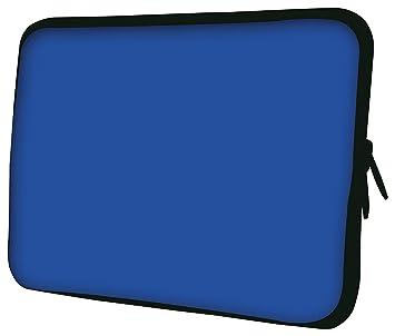 Luxburg diseño Funda Blanda de Neopreno Bolsa para portátil/Ordenador portátil/Tablet de 10, Color Azul: Amazon.es: Informática