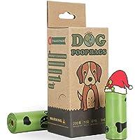 BOTEWO Bolsas para excrementos de perro, bolsas biodegradables para perros, 200 unidades, extragrandes, a prueba de…