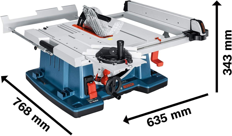 Bosch Profesional Sierra Circular de mesa GTS 10 XC con freno de ...