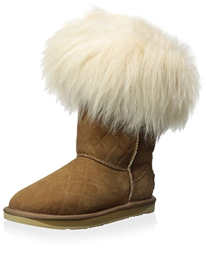 Women's Foxy Shearling Short Quilted Boot