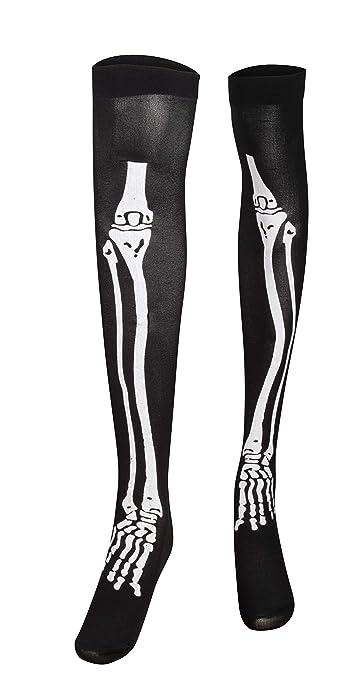 Amazon.com: Blue Panda Halloween - Guantes de esqueleto y ...