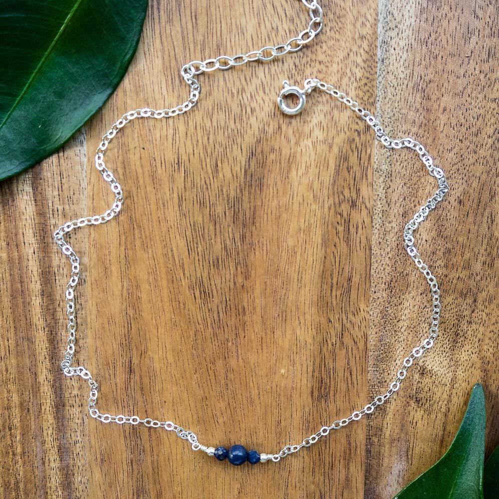 Dainty Lapiz Lazuli Choker